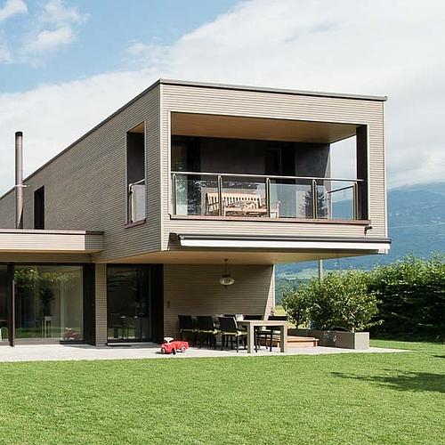 Klimaholzhaus Moderne Architektenhauser Ideales Wohnklima