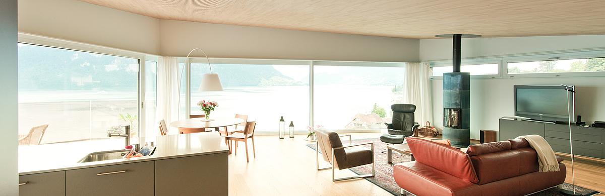 klimaholzhaus moderne architektur architekt. Black Bedroom Furniture Sets. Home Design Ideas