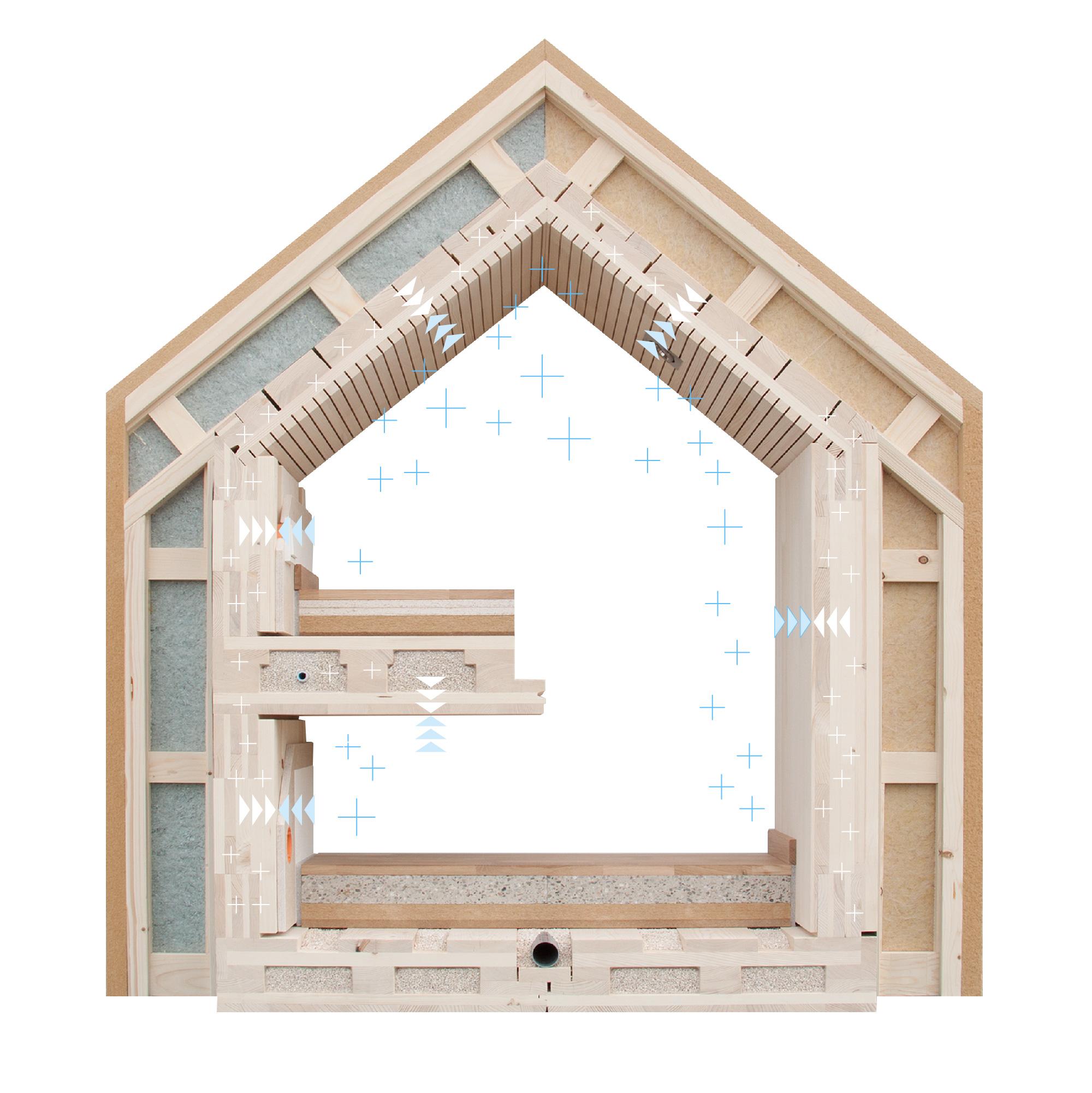 raumklima im holzhaus klimaholzhaus gesundheit wohngesundheit wohnklima luftfeuchtigkeit. Black Bedroom Furniture Sets. Home Design Ideas